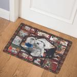 Westie Christmas -BBB221116MH Door Mat