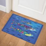 Whales CLA2211820Q Door Mat