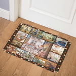 Book Lovers GS CL QD0611 Door Mat