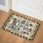 Cats With Books DHC020120911TD Door Mat