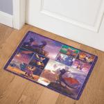 Cute Purple Dragon CLA3452 Door Mat