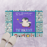 MP0110 Penguin After God Made You ds  Bath Mat