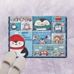 Christmas Penguin CLH1412065Q Bath Mat
