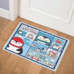 Christmas Penguin CLH1412065Q Door Mat