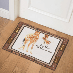 Giraffe Nursery Hello Little One GS CL LD0701  Door Mat