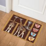 Giraffe Giraffe Family Dhc16124134Dd Door Mat