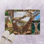 Giraffe DAC301002 Fleece Bath Mat