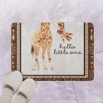 12 Giraffe Nursery Hello Little One GS CL LD0701 Bath Mat