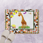 09 Giraffe CL14100223MDQ Bath Mat