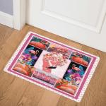 Flamingo Roses GS CL LD0608 Door Mat