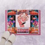 Flamingo Roses GS CL Bath Mat