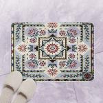 Mandala Flower CLA21 Bath Mat