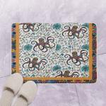 Octopus Mandala Flower CSB14 Bath Mat