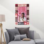 African Nurse CLT2412005N Portrait Poster