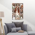 Basset Hound CLA21101016F Portrait Poster