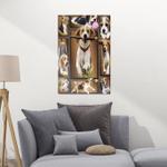 Beagle 3D CLA21100922F Portrait Poster