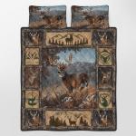 Deer Hunting Quilt Bed Set 120