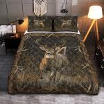 Hunting Deer Quilt Bed Set 071