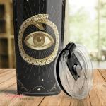 Wicca - Tarot snake eyeTumbler