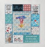 Registered Nurse I Own It Forever Quilt Blanket 320
