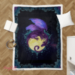 Wicca - Dragon Of The Moon Shepra Blanket 068
