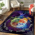 Wicca Tree Of Life W010  Area Rug