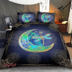Wicca - Dragonfly Moon Bedding set 011