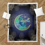 Wicca - Dragonfly Moon Shepra Blanket 011