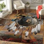 Bear Native American 329 Living Room Rug