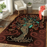 Wicca Tree Of Life W020  Area Rug