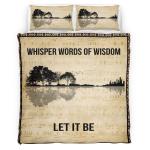 Whisper Words Of Wisdom Bedding Set 339