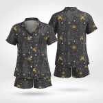 Wicca Magic Short Sleeves Pyjama 19
