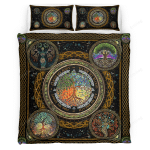 Wicca - Tree of Life Bedding Set 341