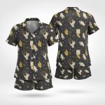 Wicca Magic Short Sleeves Pyjama 11