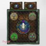 Wicca Four Elements Quilt Bed Set 341C