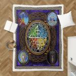Wicca - Tree Of Life Shepra Blanket 341B