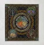 Wicca - Tree Of Life Quilt Blanket 341