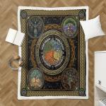 Wicca - Tree Of Life Shepra Blanket 341