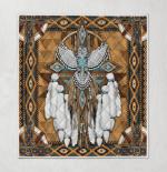 Native American Owl Spirit 344 Quilt Blanket