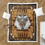 Native American Owl Spirit 344 Shepra Blanket