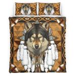 Native American Wolf Spirit 342 Bedding Set