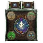 Wicca Four Elements Bedding Set 341C
