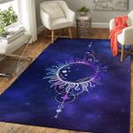 Wicca Sun Sacred Geometry W025 Area Rug
