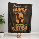 Nurse, who belives in himself  Fleece Blanket 341