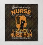 Nurse, who belives in himself  Quilt Blanket 341