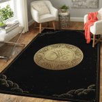 Wicca Tree Of Life Sun and moon W032 Area Rug