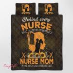 Nurse, who belives in himself Quilt Bed Set 341