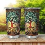 Wicca Tree of Life W013 Tumbler