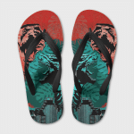 Godzilla vs Kong Flip Flops H008