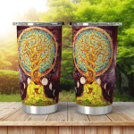 Wicca Tree And Moon W019 Tumbler